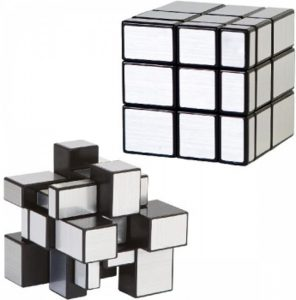 clown-games-magic-puzzle-cube-zilver-limited-edition
